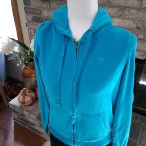 Like New! VS PINK soft zip up hoodie